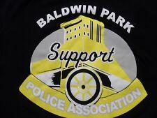 XL- Baldwin Park California Police Association Missing Tag T- Shirt