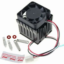 40x37x45mm Adjustable Aluminium Heatsink Fin Fan For Northbridge Chipset Cooling