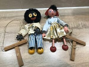 Two vintage Pelham Puppets