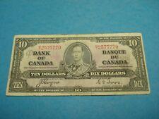 1937 - Canada - ten dollar bill - Canadian $10 - MT2575770