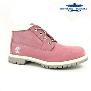 Timberland Women's Waterproof Nellie Chukka Shoes Boots 23308 Pink ALL SIZES USA