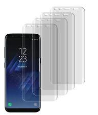 4 x Panzerfolie Samsung Galaxy S8 TPU 3D Full Curved Displayschutzfolie Folie