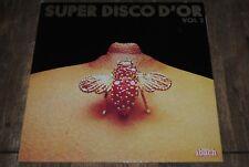 """COMPILATION """"Super Disco D'or VOL.2"""" LP VINYL / IBACH 60532"""