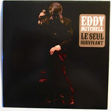 "EDDY MITCHELL - CD SINGLE PROMO ""LE SEUL SURVIVANT"""