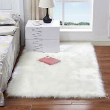 Luxury Soft Faux Sheepskin Fur Area Rugs Fluffy Rugs Chair Sofa Cover Bedroom