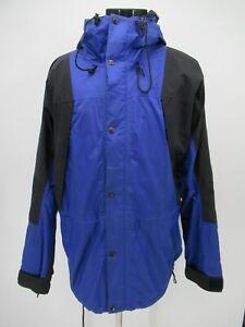 P4270 The North Face Men's Goro-tex Hood Windbreaker Nylon Jacket Size XL