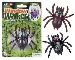 Creepy Spooky Spider Window Walker Halloween Party bag filler