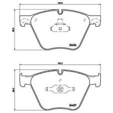 BREMBO Brake Pads P 06 073 Brake Shoe