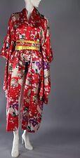 New Geisha Print Kimono W Obi