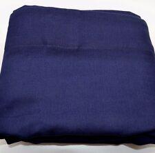"""Pottery Barn Kids Twill Blackout Pole Pocket Panel Size: 63"""" Navy Blue #58"""