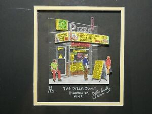 John Suchy The Pizza Joint 3D Art