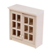 1/12 Scale Dollhouse Miniatures Wall Hanging Lockers Cabinet Model Accessor TP