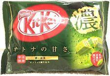 Nestle Kit Kat Chocolate Green Tea Strong Rich Taste Uji Matcha 12Bar 1Bag JAPAN