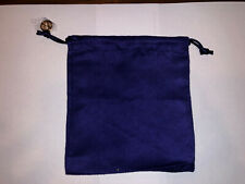 "Tory Burch Blue Velvet Jewelry Pouch (5"" x 6"") New"