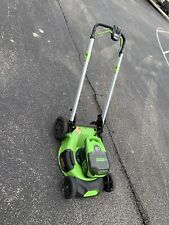 Greenworks 60V Brushless Cordless Electric Lawn Mower 21in - Self Propelled