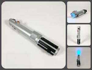 Luke Rey Anakin Skywalker Blue Jedi Lightsaber LED Torch w/ Sounds   WESCO 2008