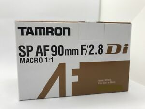 New TAMRON SP AF 90mm f2.8 Di Macro Autofocus Lens (Model: 272E)