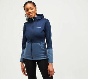 Berghaus - Womens Motionik Fleece Jacket (Blue) Womens
