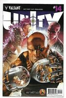 Valiant Comics, Unity, Issue 14, Direct Sales, 2014, 9.6, Near Mint Condition,