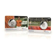 Johan Cruijff Nederland 5 Euro 2017 UNC Coincard - Official Commemorative Coin