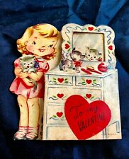 1900s Vintage Unmarked Valentine Card Look In The Mirror