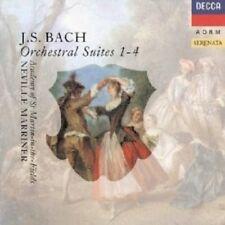 NEVILLE/AMF MARRINER - ORCHESTERSUITEN 1-4 BWV1066-69  CD +++ NEW+