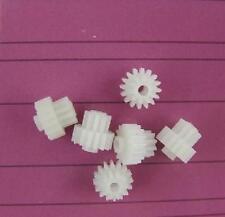 10pcs/lot 16102B Plastic Double-Deck Reduction Gear DIY Toys Robot Parts K049