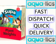Plant Weights Supa 10 Pre-Cut Lead Strips Aquarium Fish Tank Live Plants New