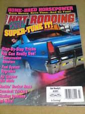 HOT RODDING - SUPER TUNE IT July 1992 Vol 31 Issue 7