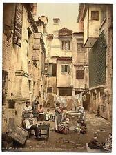 Antiguo patio veneciano Venecia A4 Foto Impresión