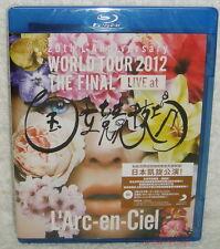 L'Arc~en~Ciel WORLD TOUR 2012 THE FINAL LIVE Taiwan Blu-ray (BD)