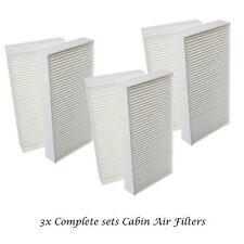 3 Sets Cabin Air Filter For Honda Civic CRV Acura RSX Fresh Breeze C15439 CF9366