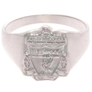 Liverpool FC Sterling Silver Ring Medium