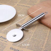 New Stainless Steel Pizza Cutter Pastry Pancake Pie Hob Wheel Knife Dough Tools