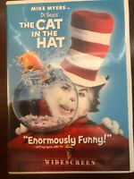 Dr. Seuss The Cat in the Hat (DVD, 2004, Widescreen Edition) like new