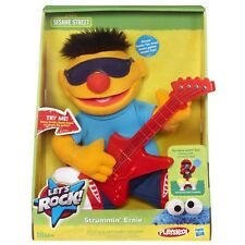 Hasbro Sesame Street Let's Rock! Guitar Musical Ernie 10in Plush - 18 months+