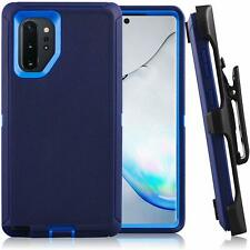 For Samsung Galaxy Note+ 10 Plus Full Body Defender Case & Clip Fit OTTERBOX Nvy