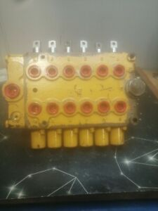 6 spool hydraulic valve block