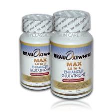 2jars Beauoxi White 12 in 1 Max Enhanced Glutathione ( 60 tablets / jar )