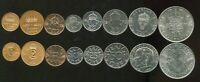 SWEDEN SET 8 COINS 1 2 5 10 25 50 ORE 1 5 KRONOR 1952 - 2009 KM 820 - 855 UNC