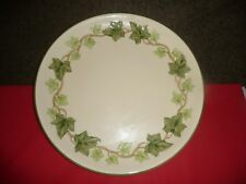 FRANCISCAN IVY (MADE IN USA) CHOP PLATE or ROUND PLATTER PLATE  -  USA