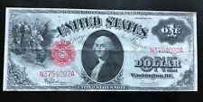 1917 $1.00 One Dollar US LEGAL TENDER RED SEAL NOTE