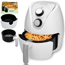 Friteuse sans huile, friteuse électrique à air chaud 3,6 L -blanc et argent