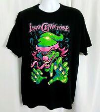 NEW Insane Clown Posse ICP Shirt XL Black Juggalo Neon Clown Joker