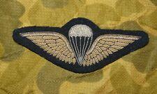 IRAQ - Original early Iraqi Army Bullion Embroidered Airborne Parachutist Wings
