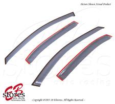 Light Smoke Outside Mount Vent Visor Deflector 4pc For 2006-2010 Hyundai Sonata
