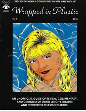 TWIN PEAKS WRAPPED IN PLASTIC #1 VERY GOOD CONDITION
