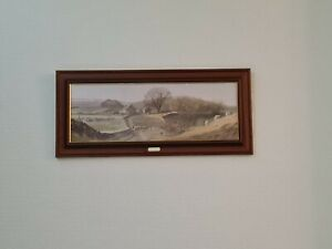 "Large Alan Ingham Beautifully Framed And Glazed Print ""Evenings Last Light"""