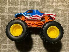 Hot Wheels Monster Jam Lone Eagle With Metal Base And Yellow Wheels 1:64