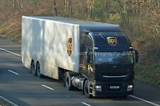 Truck Photo 12x8 - Iveco Stralis - UPS - BD68 VFL